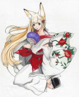 The Fox Spirit of My House by CallieFink