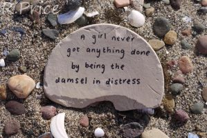 I Am Not A Damsel, And I Am Not In Distress by Rhiallom