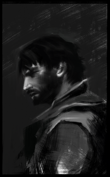 dishonored 2 | corvo attano| studies by jingjer