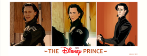 Loki the Disney Prince by VideaVice