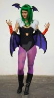 Morrigan cosplay at XIX Salon del Manga Barcelona by JudyHelsing
