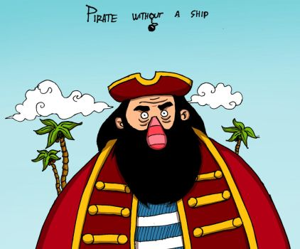 Pirate without a ship by Ritualist
