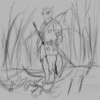 Warrior marshes (sketch) by Ganrielid
