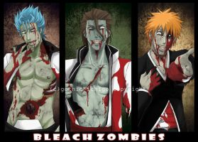 Bleach Zombies by GothicIchigo