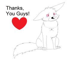 Thanks, You Guys! by XfangheartX