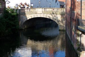 Fossgate Bridge in York by Brianetta