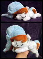 Waffles ''Lazy Pony'' Beanie by AppleDew
