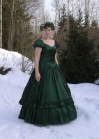 Green Gown 1 by Eirian-stock