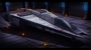 Star Wars Incom LA-01 Speeder by AdamKop
