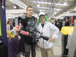 Supanova 2013 - N and Commander Shepard by fulldancer-alchemist