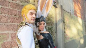 Balthier and Fran 07 by drkitsune