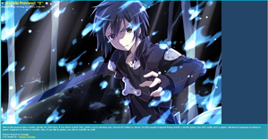 Sword Art Online Journal Skin by Water-Chrome