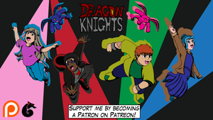 Dragon Knights on Patreon by redliger