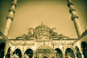 Sultanahmet Mosquee1 by GonulBIKIM