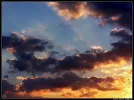 Mediterranean - Clouds IV by Hiersein
