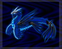 Deep Sea Dragon Abyss by DamienMuerte