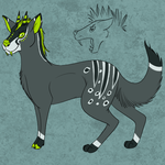 Fantasy Duiker by Solaris-Meadow