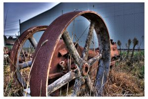 old machinery HDR by danielh85