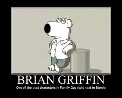 Brian Motivational Poster of Awesomeness! by CartoonAnimes4Ever