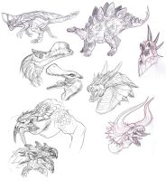 April sketches 3 by Furedo