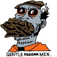 HANNA: GENTLE FEDORA MEN by sweetlittlekitty