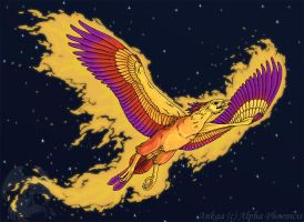 AT: Phoenix of Flames -Ankaa by WhitePhoenix7