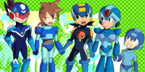 we are rockman by mizz-ninja