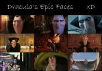 Dracula's Epic Faces by AmmoniteFiction