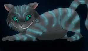 Cheshire Cat by lilka23