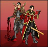 Fire Emblem Awakening: Red Robin and Red Hood by Kiarou