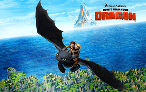"HTTYD Wallpaper ""High Flight"" by Rishkhaan"