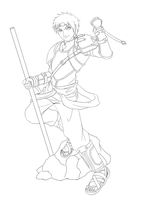 Sieg-2 outline by rithgroove