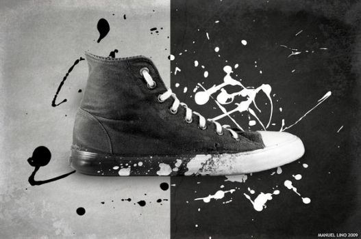 Painted Sneakers by A-f-x