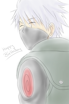 Kakashi's Birthday by Kixuri-Chan