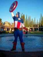 Captain America at SacAnime Winter 2012 by DearestLeader