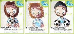 Let's Goal Together by anouki-morgenstern