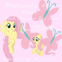 Fluttershy Icon Pack [BlizardHat] (Windows) by percabethlover123