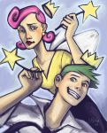 Cosmo and Wanda by Palila