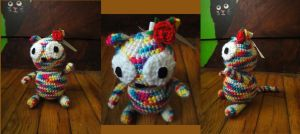Rainbow kitty for Yuseichan ^^ by Tigrite