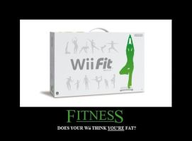 Wii Fit Inspirational Poster by Silver-Mongoose