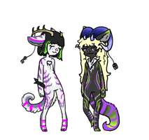 Anthro Sisters auction (Closed) by Corrupted-Adopts