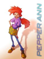 Sketch- Pepper Ann by ben-ben