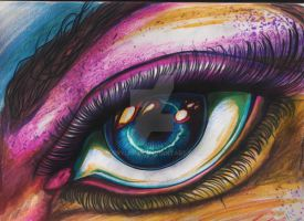 The Left Eye by AcrylicInk