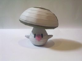 Foongus papercraft by kyogre92
