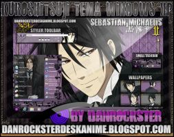 Sebastian Michaelis Theme Windows XP by Danrockster