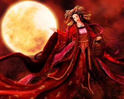 Dancing in the Moonlight Night by whiteguardian