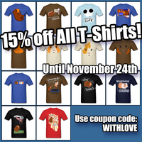 15% Off All T-Shirts! by JoeGPcom