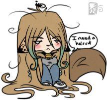 I need a hair cut... by Kinla