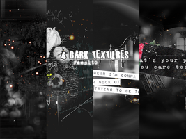 4 Dark Textures by reecito