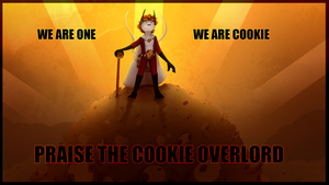 Overlord Cookie by Kina-Axian